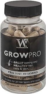 Mejores vitaminas para el cabello - GrowPro - Hair Growth Supplements con fórmula fortalecedora de uñas para uñas más fuertes y largas