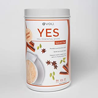 Yoli YES Protein Shake Canister (Spiced Chai) by Yoli LLC