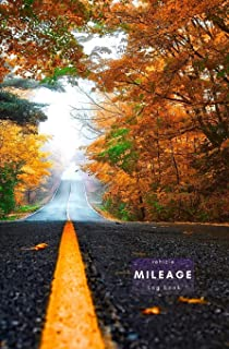 Vehicle mileage log book: Keep track of your car or vehicle mileage for business and tax purposes. Portable odometer logging notebook.