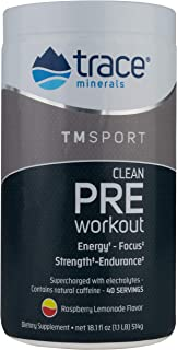 Trace Minerals TMRFIT Series Preworkout Canister Supplement, 18.1 Ounce