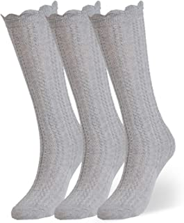 Best baby boy grey knee high socks Reviews
