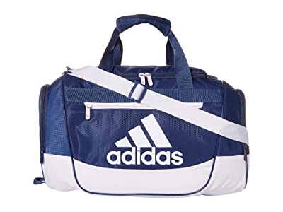adidas Defender III Small Duffel (Tech Indigo/Blue/Purple Tint) Duffel Bags