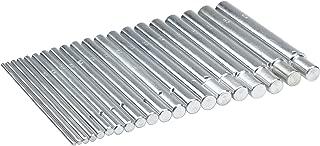 Pepetools Jump Ring Mandrels (Set of 20), 2.5mm-12mm