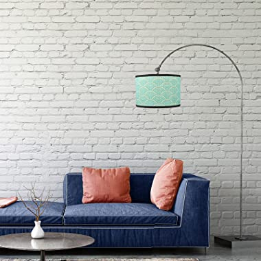 OSALADI Lamp Shade Light Fixture Chandelier Pendant Lamp Shade Drum Lampshade Beside Table Light Cover for Living Room