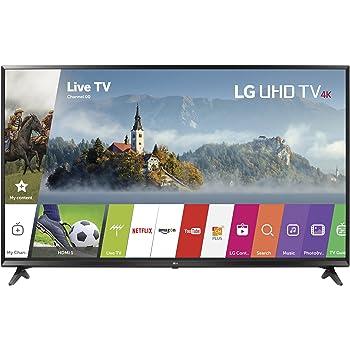 LG Electronics 43UJ6300 43-Inch 4K Ultra HD Smart LED TV (2017 Model)