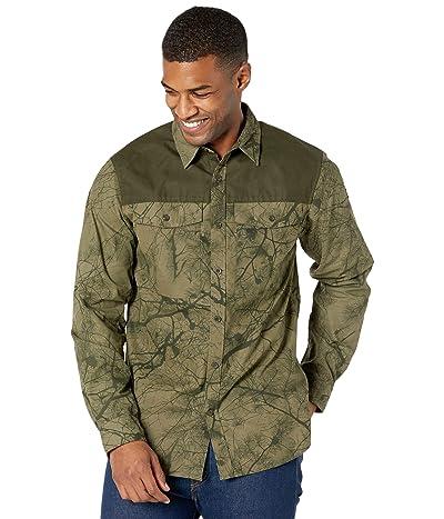 Fjallraven Varmland G-1000 Shirt (Green Camo/Deep Forest) Men