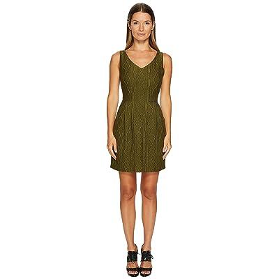 Boutique Moschino Sleeveless Knit Dress (Green) Women