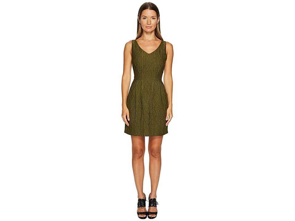 Boutique Moschino Sleeveless Knit Dress (Green) Women