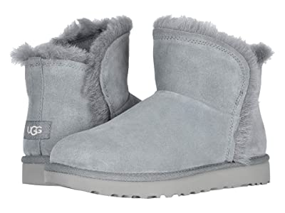 UGG Classic Mini Fluff High-Low (Geyser) Women