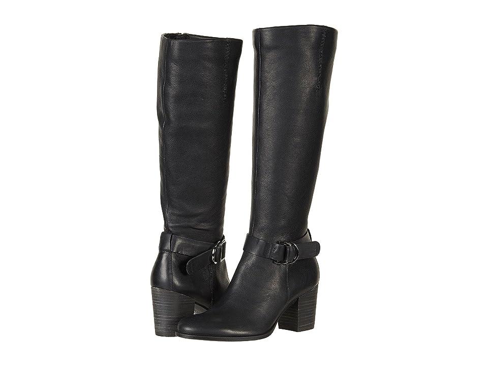 ECCO Shape 55 Tall Boot (Black/Black) Women