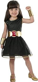Rubie's Marvel Universe Child's Black Widow Costume Tutu Dress, Child's Medium