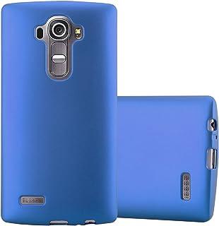 d2d5b446d6c Cadorabo Funda para LG G4 en Metallic Azul – Cubierta Proteccíon de  Silicona TPU Delgada e