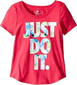 Nike Kids - Sportwear Flower Jam Tee (Little Kids/Big Kids)