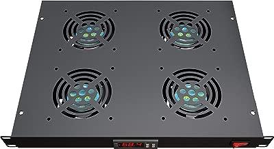 Rack Mount Fan - 4 Fans Server Cooling System - 1U 19