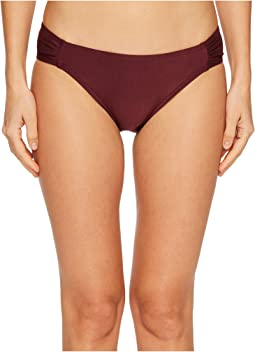 Kate Spade New York Isla Vista #74 Side Shirred Bikini Bottom