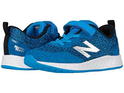 New Balance Kids Fresh Foam Arishi v3 Bungee (Infant/Toddler) (Vision Blue/Black) Boys Shoes