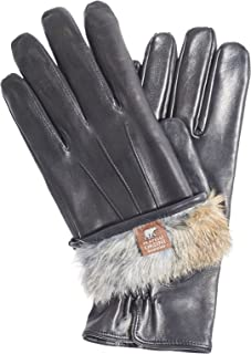 Best mens leather gloves rabbit fur lined Reviews