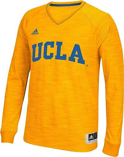 Adidas UCLA Bruins Doré 2015 2016on-Court Player Fusil à Manches Longues pour
