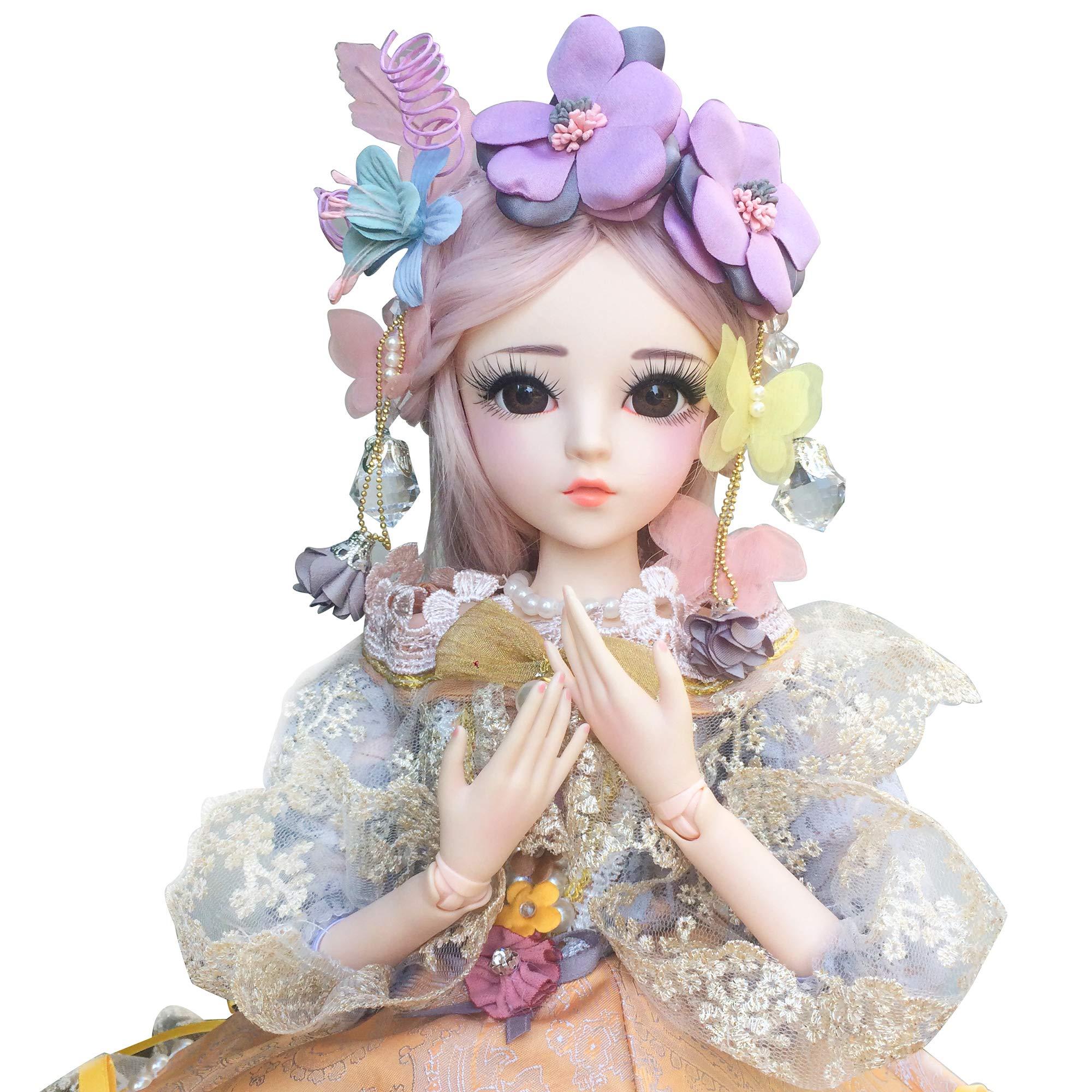 Amazon.com: EVA BJD Customized Doll 1/6 SD Doll 11 inch