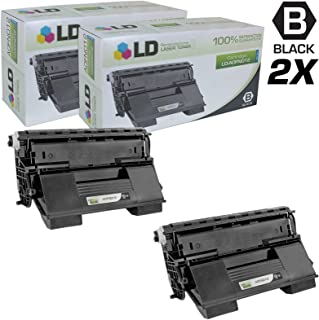 LD Remanufactured Toner Cartridge Replacement for Konica Minolta PagePro 4650EN A0FN012 High Yield (Black, 2-Pack)
