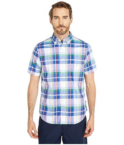 Nautica Casual Woven Shirt (Blue) Men