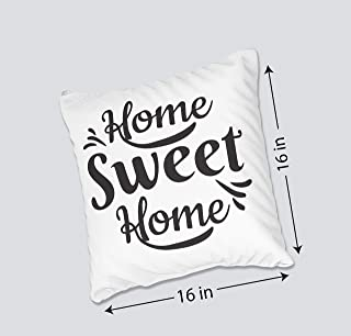 Trunch Housewarming Gift | Farmhouse Pillow Covers with Home Sweet Home Quotes | New Home Throw Pillow Case Gift for Him H...
