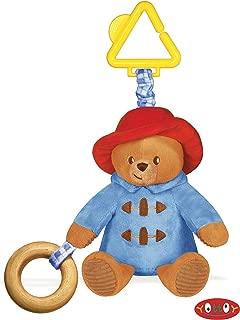 Paddington Bear Stroller Toy 8.5 inch - Baby Stuffed Animal by Yottoy (641)