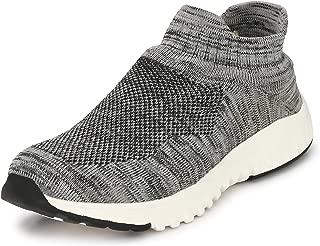 WOODBAY Mens Grey Running Shoes