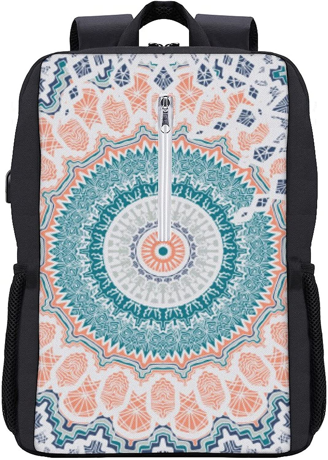 Mandala Laptop Backpack with USB Backp Port Travelling Super sale 67% OFF of fixed price Charging