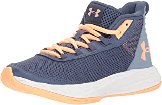 Under Armour Girls' Grade School Jet 2018 Basketball Shoe