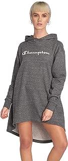 Champion Maxi Hooded Sweatshirt for Women, Grey, M