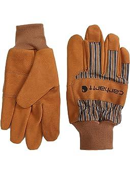 Carhartt System 5 Suede Work Knit Gloves