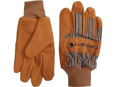 Carhartt System 5 Suede Work Knit Gloves Gore-Tex Gloves