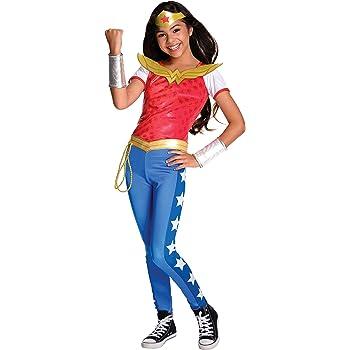 DC Comics, Disfraz de Wonder Woman Licencia Oficial para Niña ...