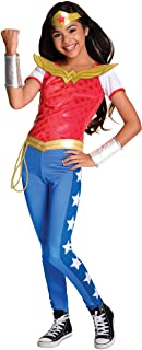 Rubie's Costume Kids DC Superhero Girls Deluxe Wonder Woman Costume, Medium