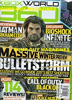 XBOX World 360 UK #97 HALO MAGAZINE & HALO REACH POSTER, REVIEW, TIPS & MORE Batman Arkham City: Five Pages Of Pics & Opin...