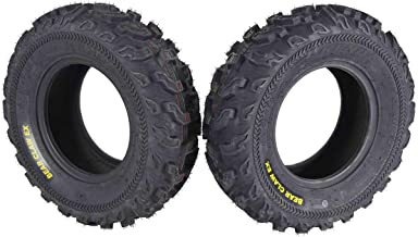 Kenda Bear Claw EX 21x7-10 Front ATV 6 PLY Tires Bearclaw 21x7x10-2 Pack