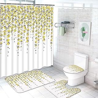 Amazon Com Yellow Bathroom Accessory Sets Bathroom Accessories Home Kitchen