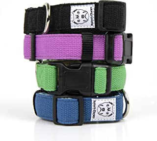 Baloo's Chews Organic Hemp Dog Collar Lined with Soft Fleece for Extra Comfort