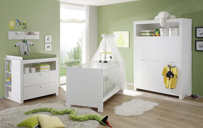 Wei/ß 25 x 36,5 x 93 cm trendteam Bianco Scaffale per cameretta