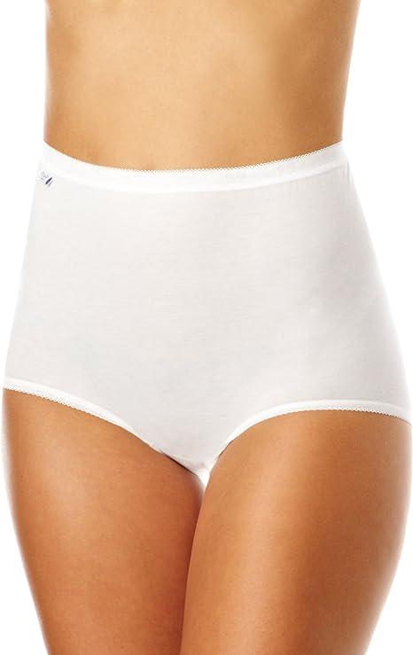 Sloggi Women S Maxi Brief Pack Of 4 Amazon Co Uk Clothing