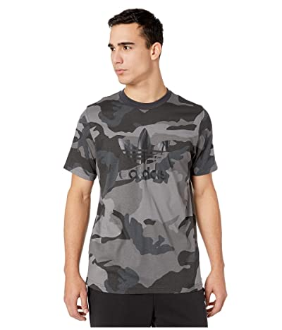 adidas Originals Camo Tee (Multicolor Carbon 2) Men