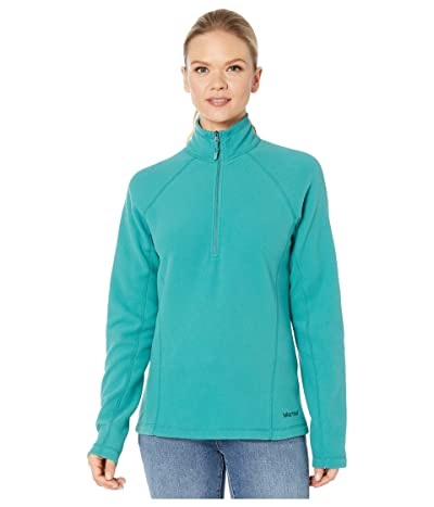 Marmot Rocklin 1/2 Zip (Deep Jungle) Women
