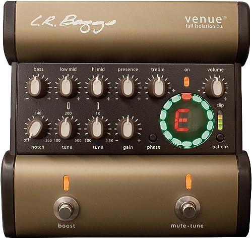 2021 L.R. popular Baggs Venue DI lowest Acoustic Guitar Preamp and DI sale