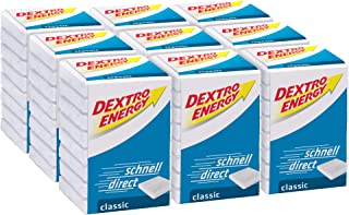 Dextro Energy kubus Classic / 8 dextrose-tabletten met snel beschikbare druivensuiker/9 verpakkingen (9 x 46g)