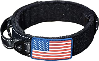 DOG COLLAR WITH CONTROL HANDLE MILITARY STYLE METAL QUICK RELEASE TACTICAL BUCKLE HEAVY DUTY 2