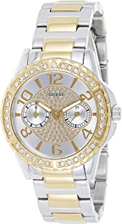 Guess Womens Quartz Wrist Watch, Analog and Stainless Steel- W0705L4