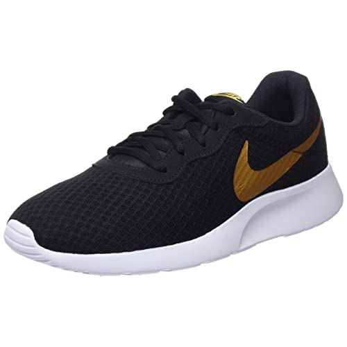 Black and Gold Trainers: Amazon.co.uk