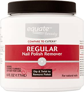 Equate Regular Nail Polish Remover, 6 Oz (Compare To Cutex)