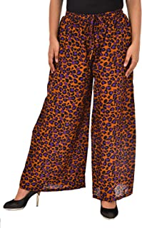 COTTON BREEZE Women's Regular Fit Palazzo Pants